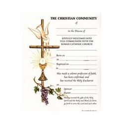 Full Communion Certificate