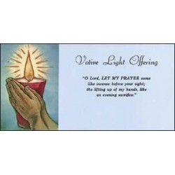 Votive Light Offering Envelope