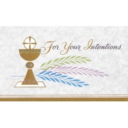 Cup of Salvation Mass Card