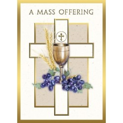 A Mass Offering Mass Card