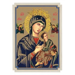 Our Lady of Perpetual Help Mass Card
