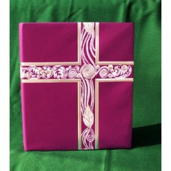Liturgical Binder Purple w/Silver