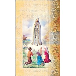 Biography of Our Lady of Fatima