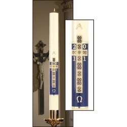 Holy Cross Paschal Candle