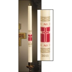 Alleluia Paschal Candle