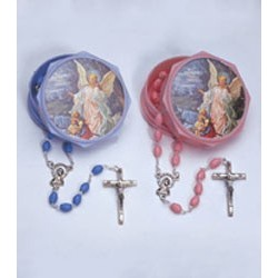 Guardian Angel Rosary Box with Rosary