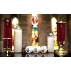 14 Day Glass Sanctuary Lights - Domus Christi