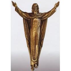 Risen Christ - Cast Bronze 3/4 Relief