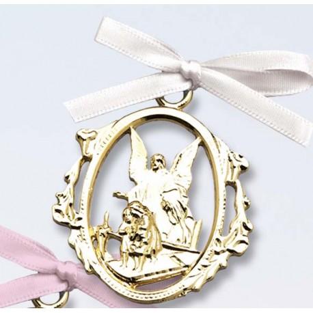 Crib Medal-White