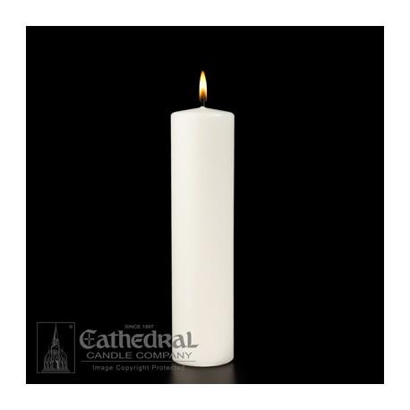 Christ Candle-White Ceremonial Pillar