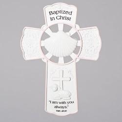 Baptismal Wall Cross-Girl