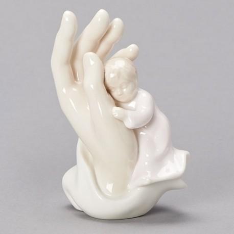 Girl Palm of Hand Figure
