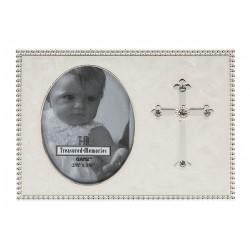 Cross Photo Frame-Rhinestone