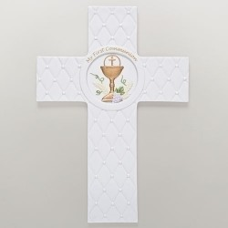 Communion Cross-Quilted