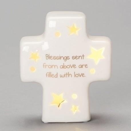 Table Cross-LED