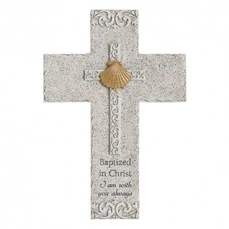 Baptism Wall Cross