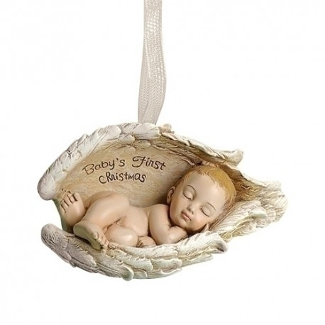 Baby in Wings Ornament