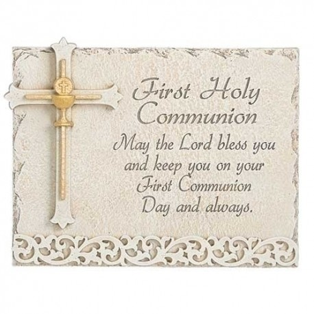 Communion Wall Plaque