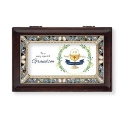 Grandson Musical Communion Box