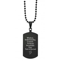 Dog Tag-7 Gifts of the Holy Spirit