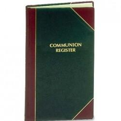 Communion Register