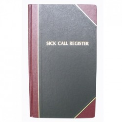 Sick Call Register