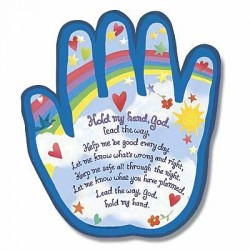 Hold My Hand Shaped Plaque