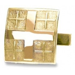 Cuff Links - Gold Plated Sterling Silver