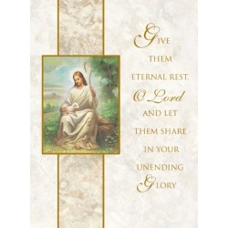 Eternal Rest Mass Card