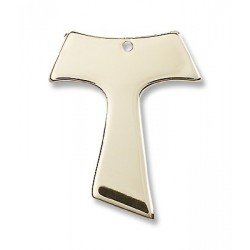 14K Gold Tau Cross Medal
