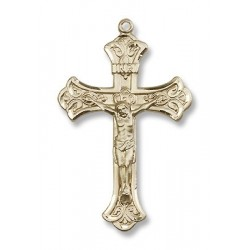 Gold Filled Crucifix Pendant
